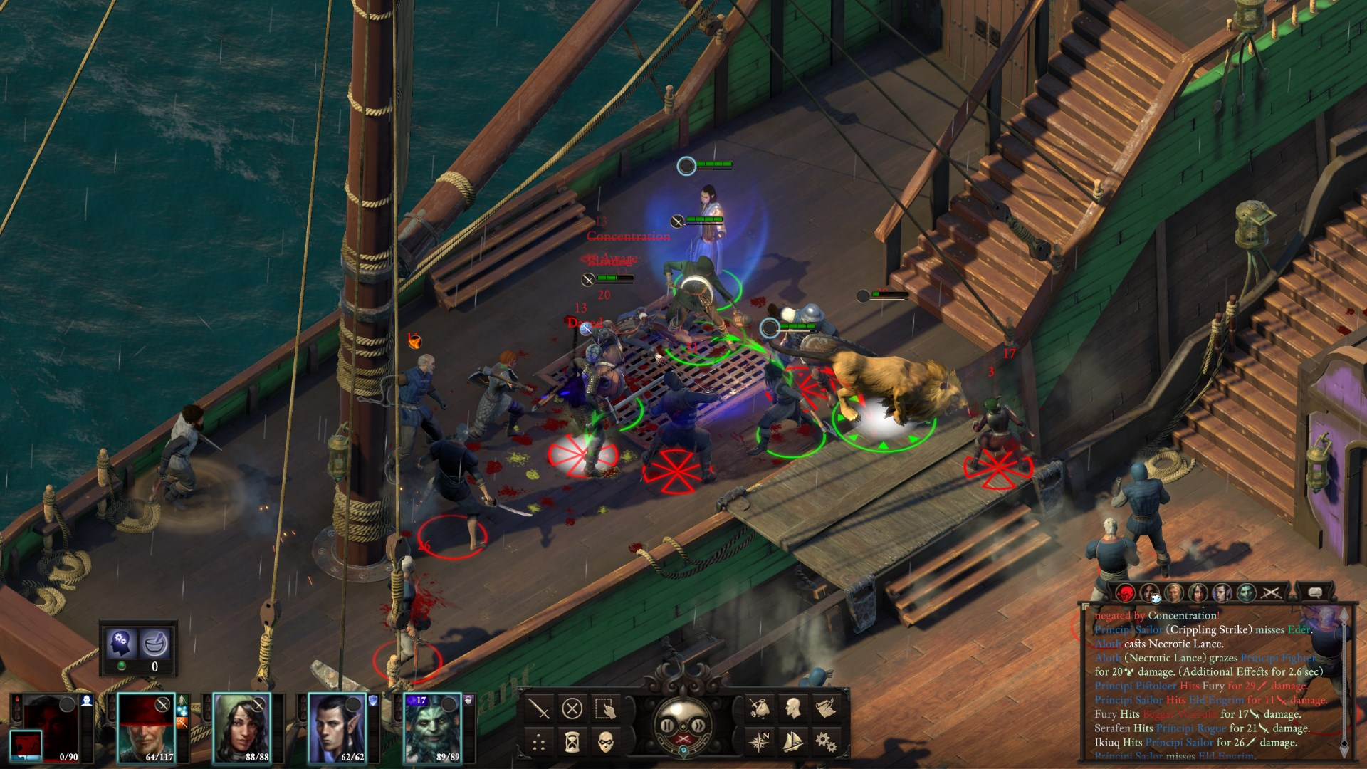 Pillars Of Eternity 2 Deadfire Is Getting Turn Based Combat Later