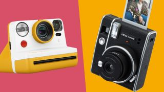 Polaroid Now vs Fujifilm Instax Mini 40