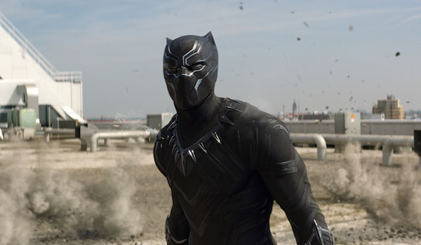 black panther outside