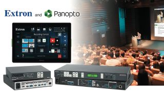 Extron and Panopto, an enterprise video platform provider, have formed a partnership to integrate Extron's configurable AV control systems with Panopto's media capture software and content management system.