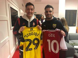 MesutOzil_ KashifSiddiqi Shirt Swap_