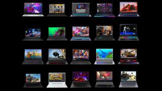 Nvidia-powered gaming laptops