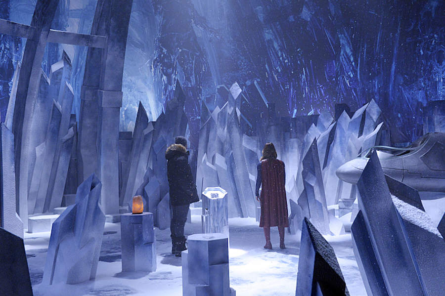 Supergirl: Check Out The First Look At The Fortress Of Solitude #35527