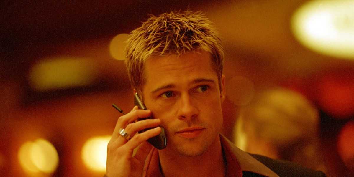Brad Pitt in Ocean's 11