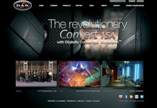 D.A.S. Audio Revamps Website
