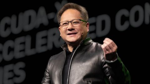 Nvidia CEO at press conference