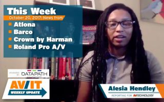 [VIDEO] AV/IT Weekly Update: Barco, Atlona, Roland ProAV, Crown by Harman
