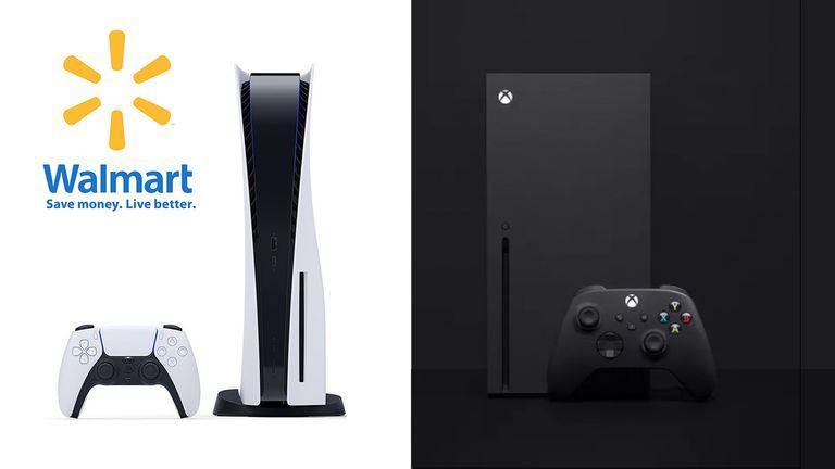 PS5 Xbox Series X Walmart