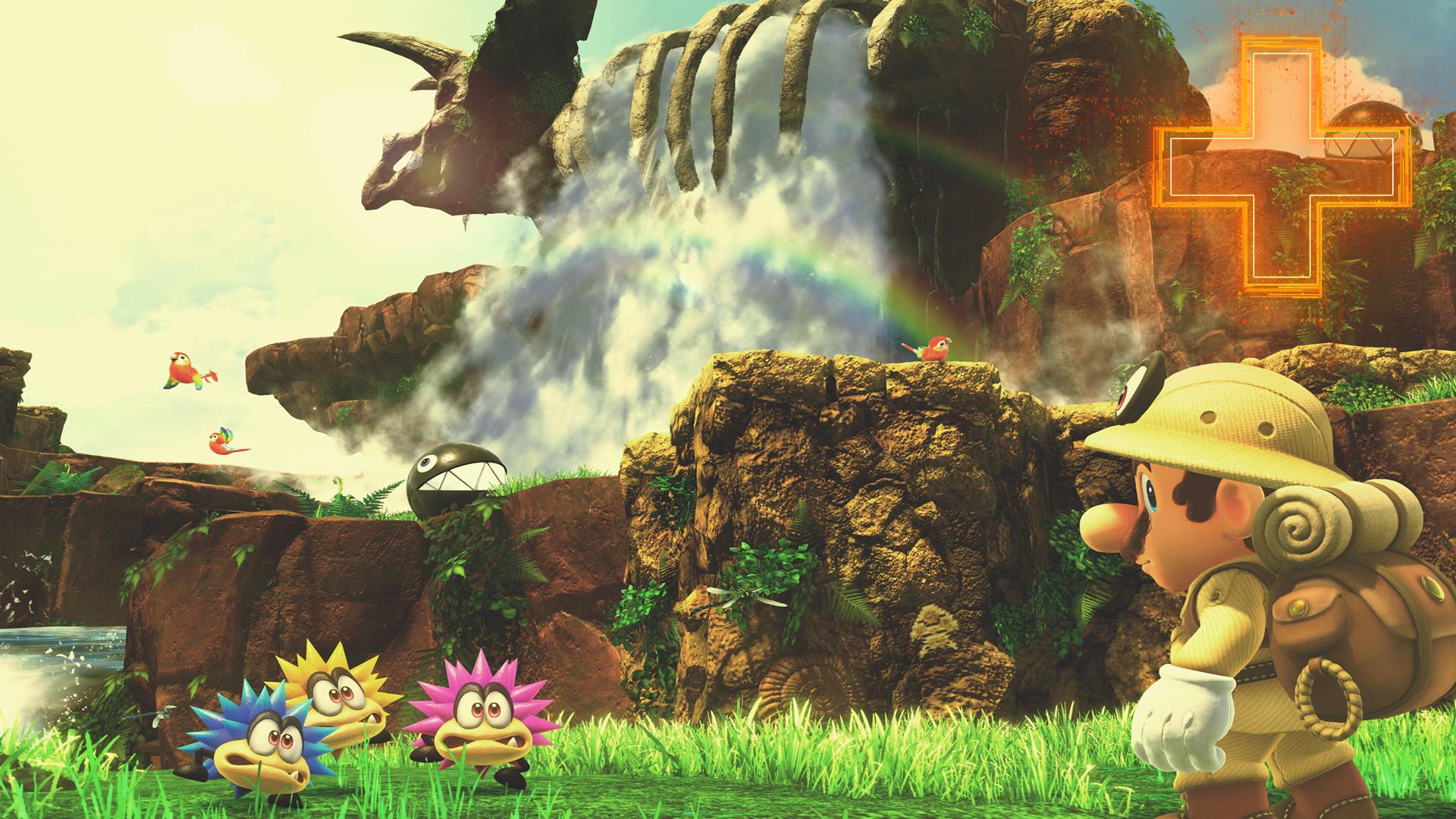 super mario galaxy mushroom kingdom