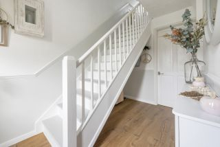 How to paint stairs step by step