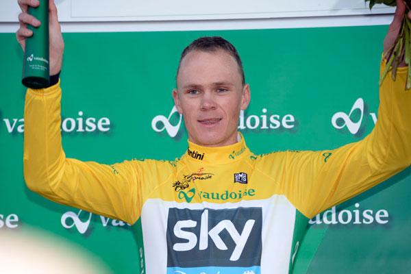 Chris Froome, Tour de Romandie 2013