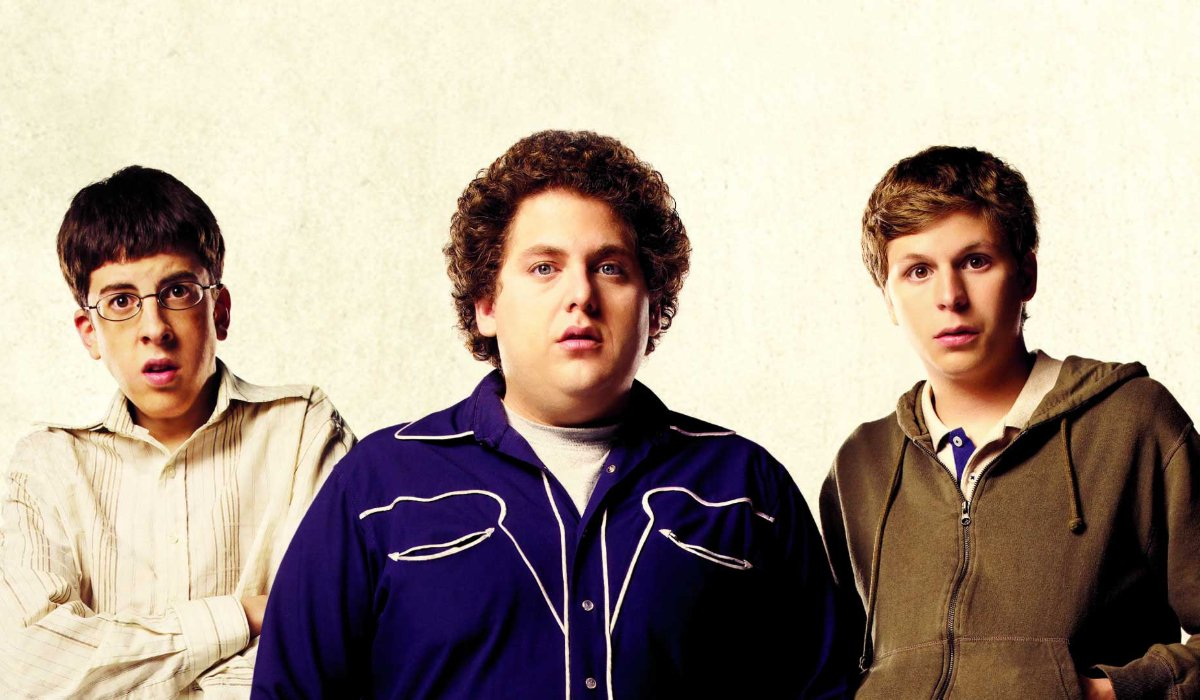 Superbad the boys looking confused