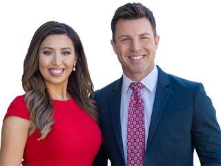 Allison Rodriguez and Justin Pazera
