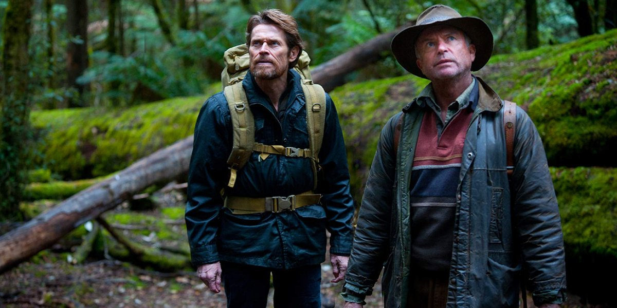Willem Dafoe and Sam Neill in The Hunter