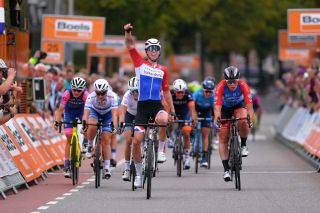 Dutch road race champion Lorena Wiebes (Parkhotel Valkenburg) wins stage 1 of the 2019 Boels Ladies Tour