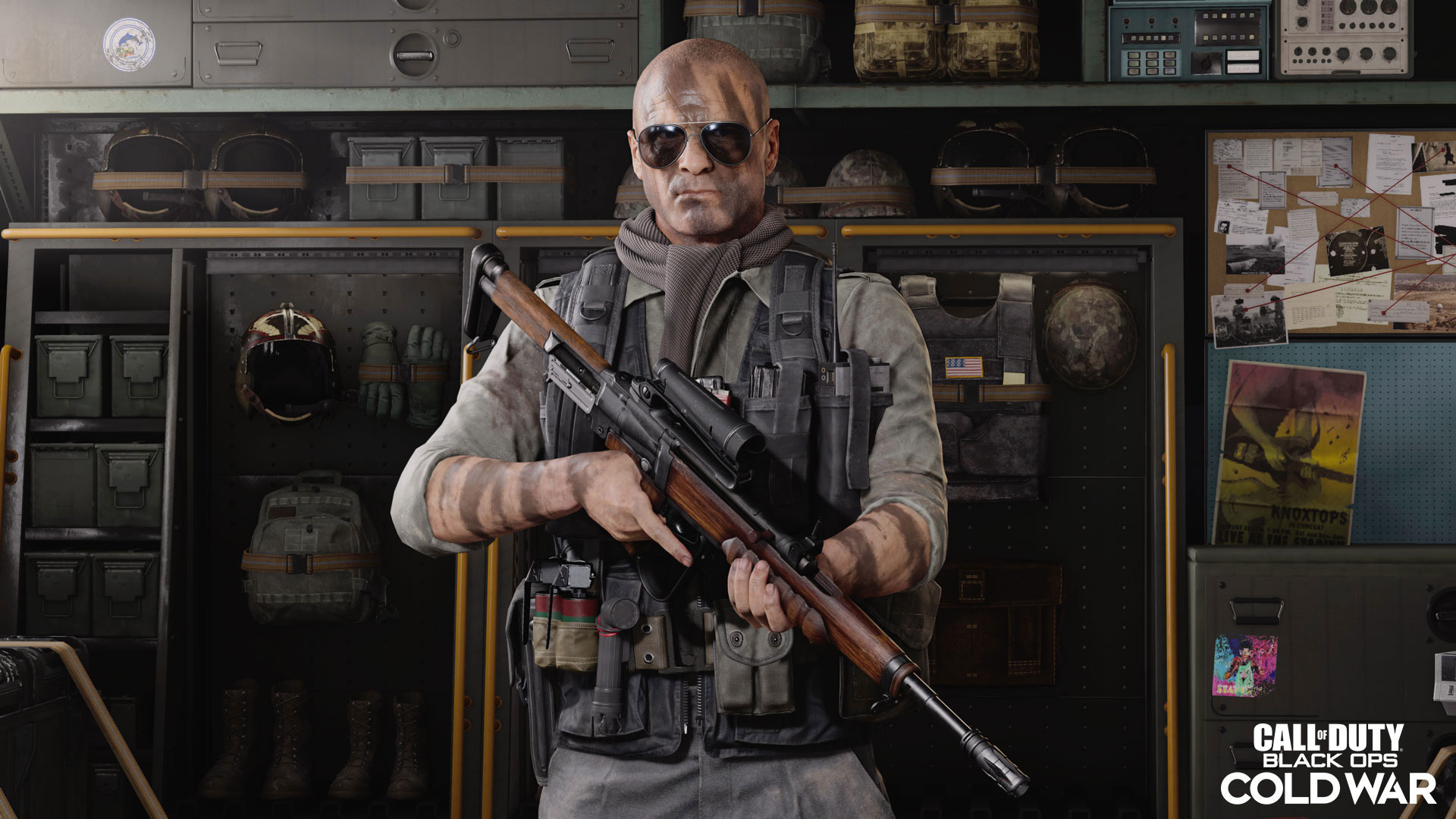 Warzone operator Hudson poses ahead of Season 5 Reloaded