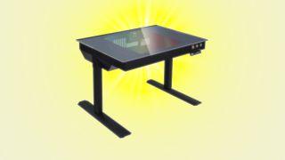 Lian Li DK-04F gaming desk
