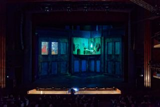 "d3 Technologies Bring Video Mapping to Russian Stage with ""Crime and Punishment"""