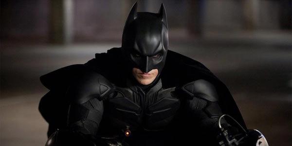 Christian Bale as Batman in Dark Knight Rises