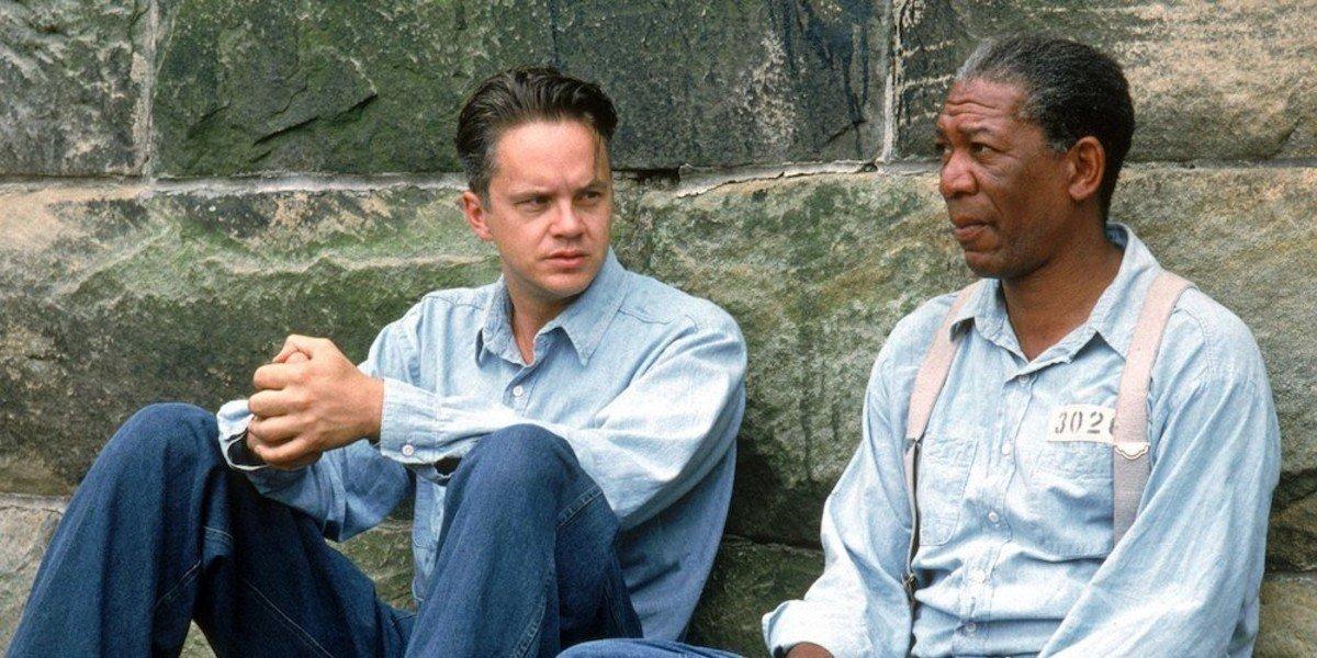 Tim Robbins, Morgan Freeman - The Shawshank Redemption