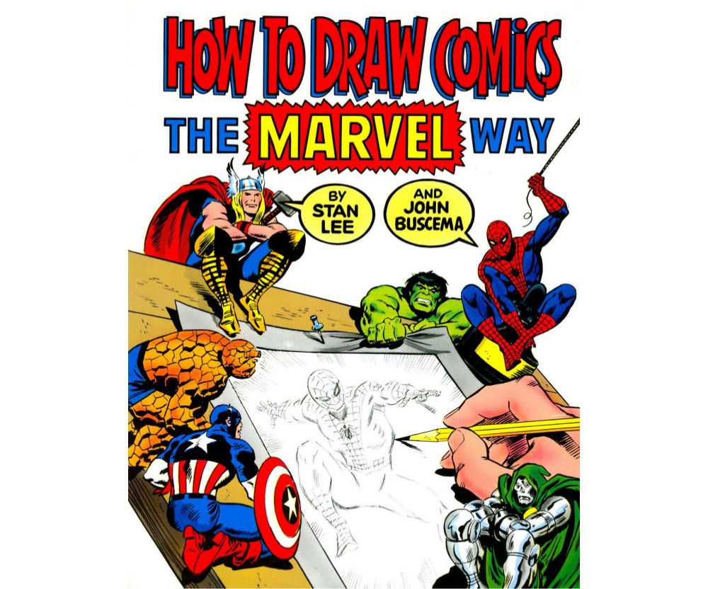 Best drawing books: How to draw comics the Marvel way