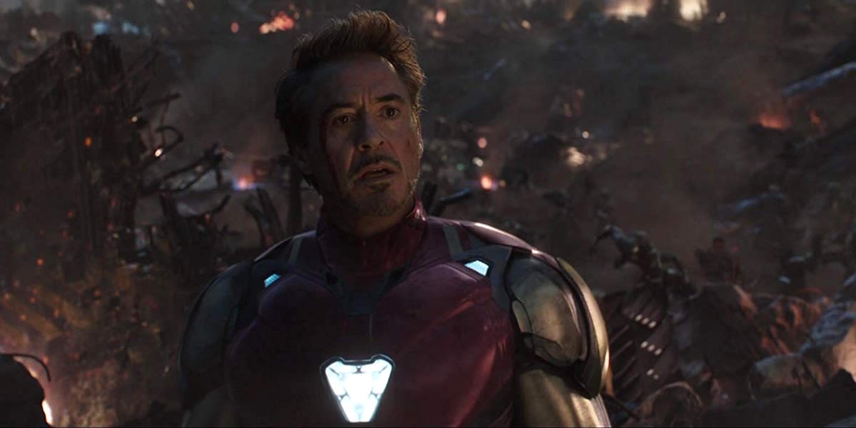 Robert Downey Jr. as Tony Stark in Avengers: Endgame