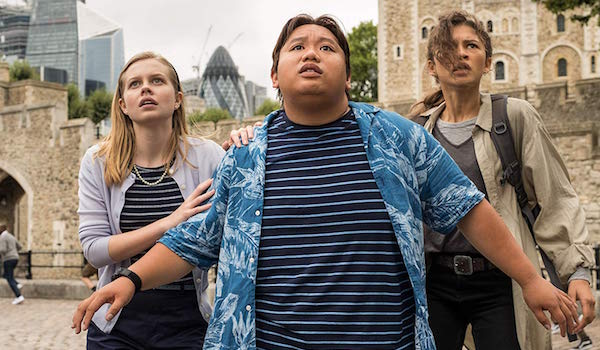 Ned, MJ and Betty Brant in Spider-Man: Far From Home