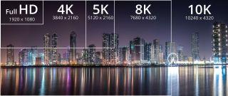4K Comparison Chart