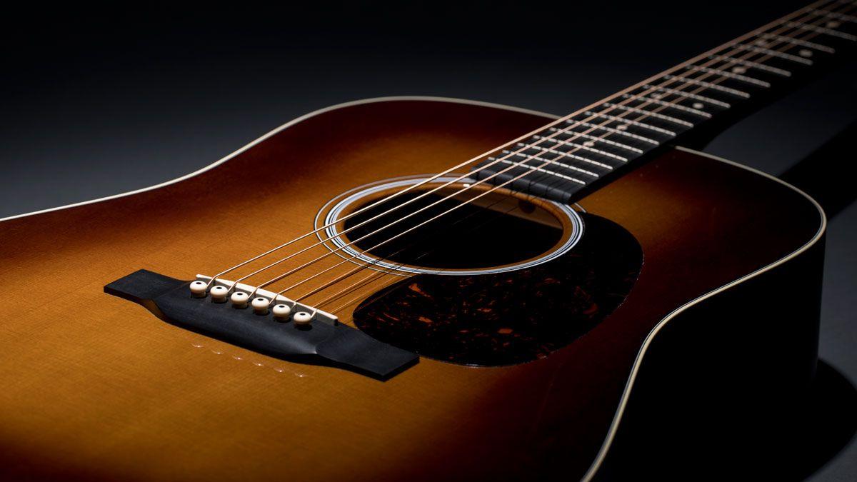 musikmesse 2018 martin unveils limited edition black walnut acoustic guitars musicradar. Black Bedroom Furniture Sets. Home Design Ideas