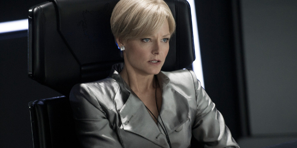 Elysium Jodie Foster overseeing operations in her chair