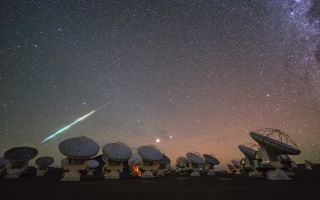 Cosmic Fireball Falling Over ALMA