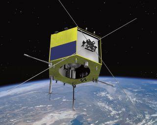 CASSIOPE Satellite Artist's Concept