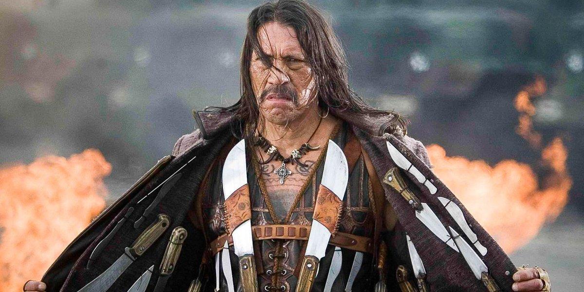 Danny Trejo as the title role in Machete