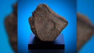 The world's largest Martian meteorite, Taoudenni 002.