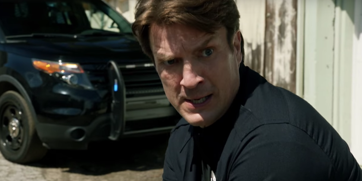 Nathan Fillion in The Rookie