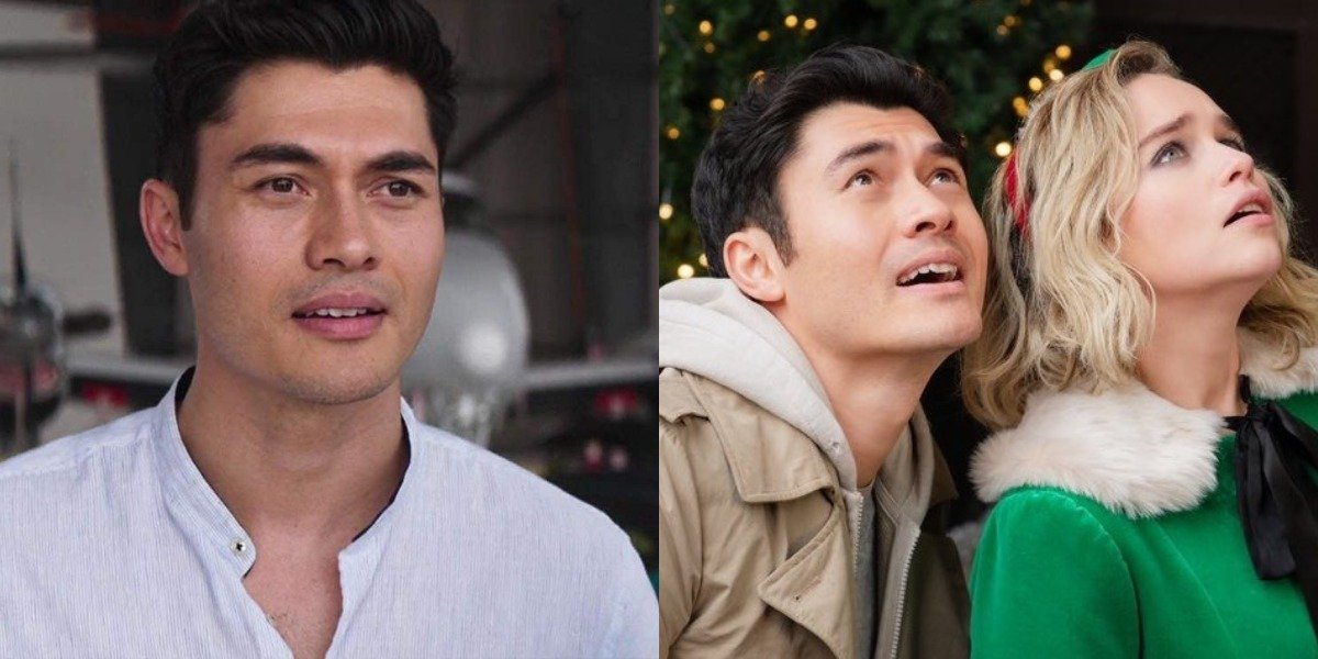 Henry Golding in Crazy Rich Asians and Last christmas with Emilia Clarke