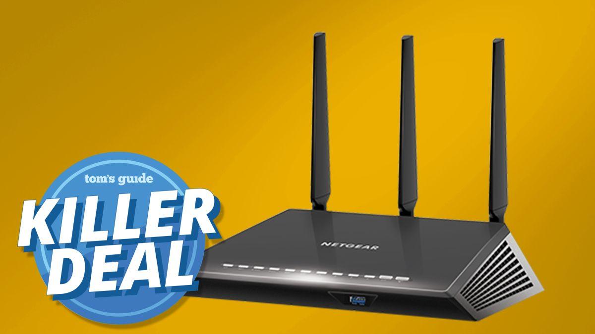 Netgear's Nighthawk smart WiFi router just hit $89