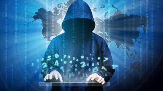 artistic representation of a hacker