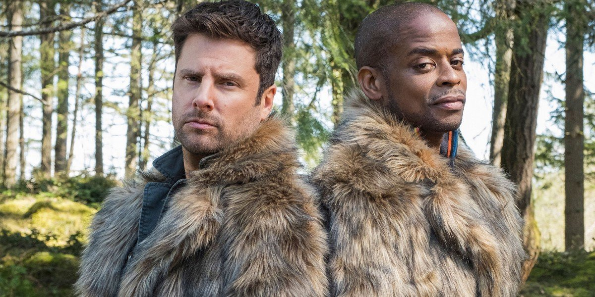 James Roday Rodriguez, Dule Hill - Psych 2: Lassie Comes Home