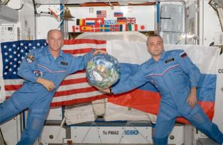 New Crew to Dock at International Space Station