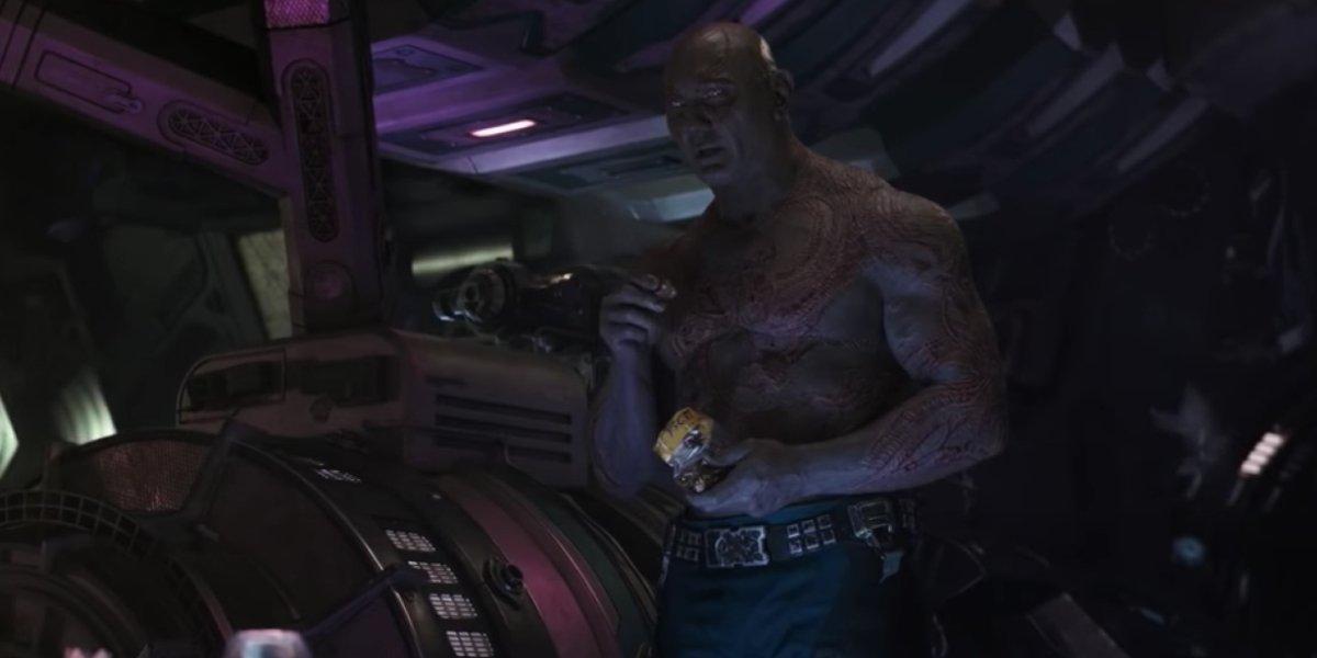 Dave Bautista in Avengers: Infinity War