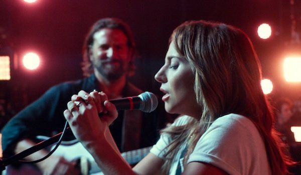 A Star Is Born Lady Gaga sings with Bradley Cooper on guitar