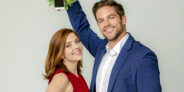 Mingle All the Way Jen Lilley Brant Daugherty, Pooya Nabei/2018 Crown Media United States LLC