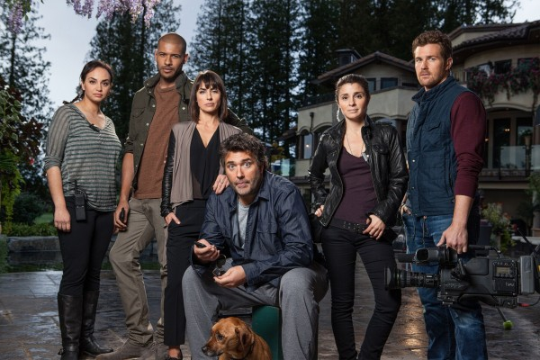 Constance Zimmer and the cast of UnREAL