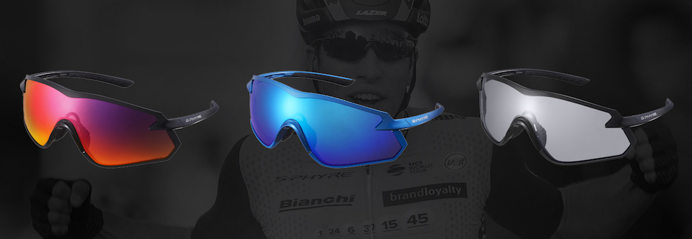 e4e7b6e902 Shimano will offer the S-Phyre glasses with three lens options