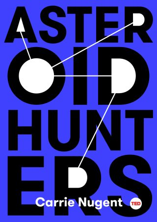 """Asteroid Hunters"" Book Jacket"
