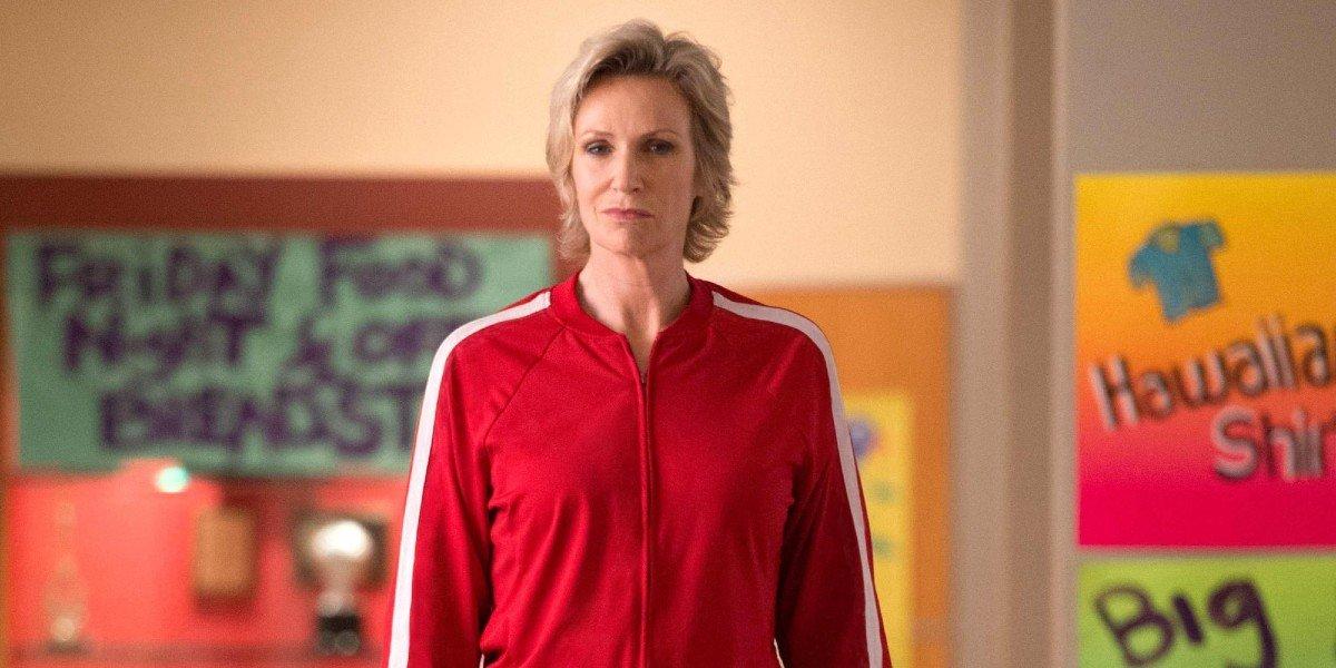 Jane Lynch in as Sue in Glee