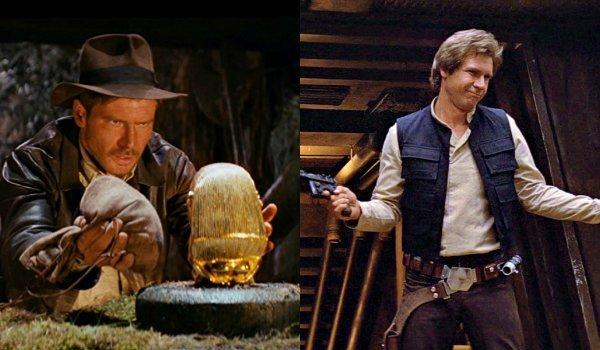 Han Solo Harrison Ford Indiana Jones