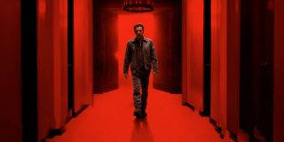 Doctor Sleep Danny Torrance walking in a red corridor
