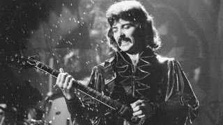 Tony Iommi performs live